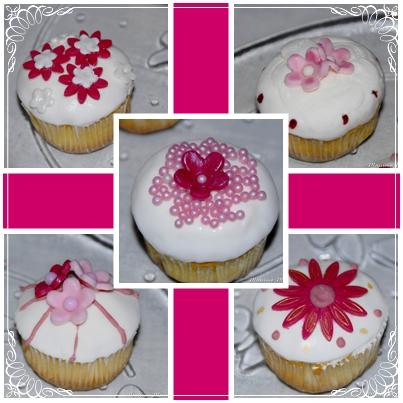 cupcakes rosa