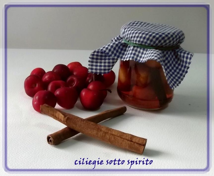 ciliegie sotto spirito